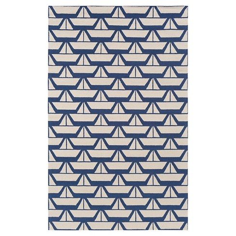Celestina Kid's Rug 3'x5' Dark Blue - Surya - image 1 of 1