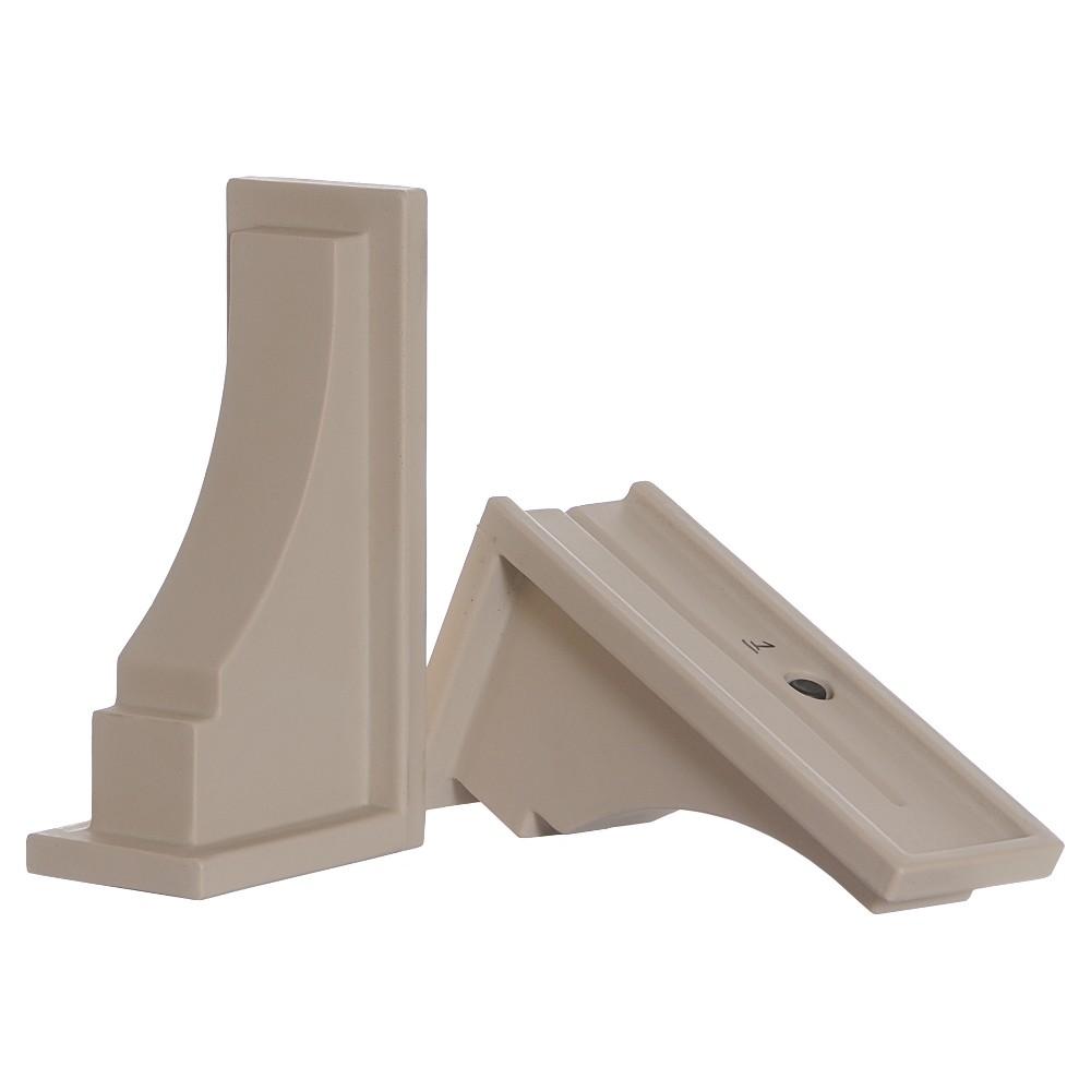 2 PackFairfield Decorative Brackets - Clay - Mayne