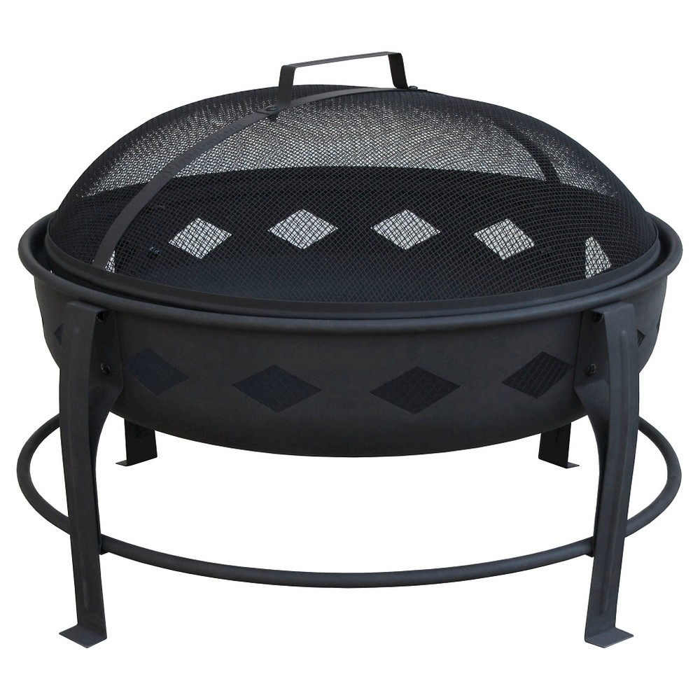 Landmann Bromley Fire Pit Steel - Black