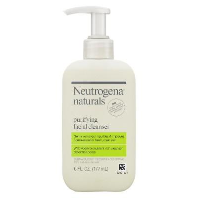 Facial Cleanser: Neutrogena Naturals Purifying Facial Cleanser