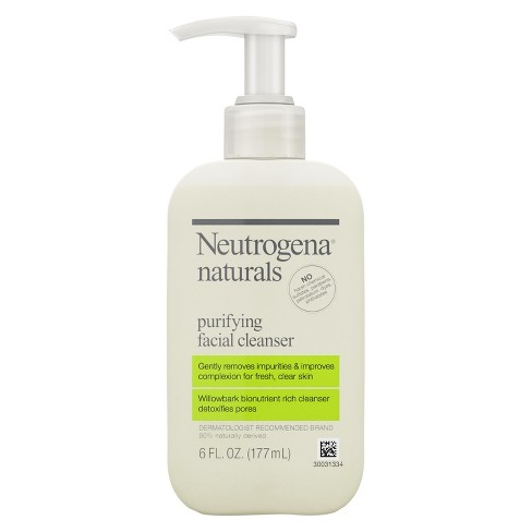 Neutrogena Naturals Purifying Face Wash with Salicylic Acid - 6 fl oz - image 1 of 4