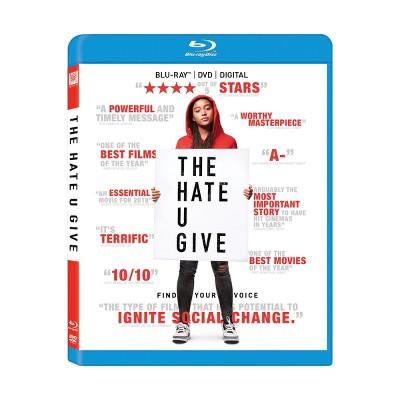 The Hate U Give (Blu-Ray + DVD + Digital)