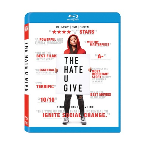 The Hate U Give (Blu-Ray + DVD + Digital) - image 1 of 1