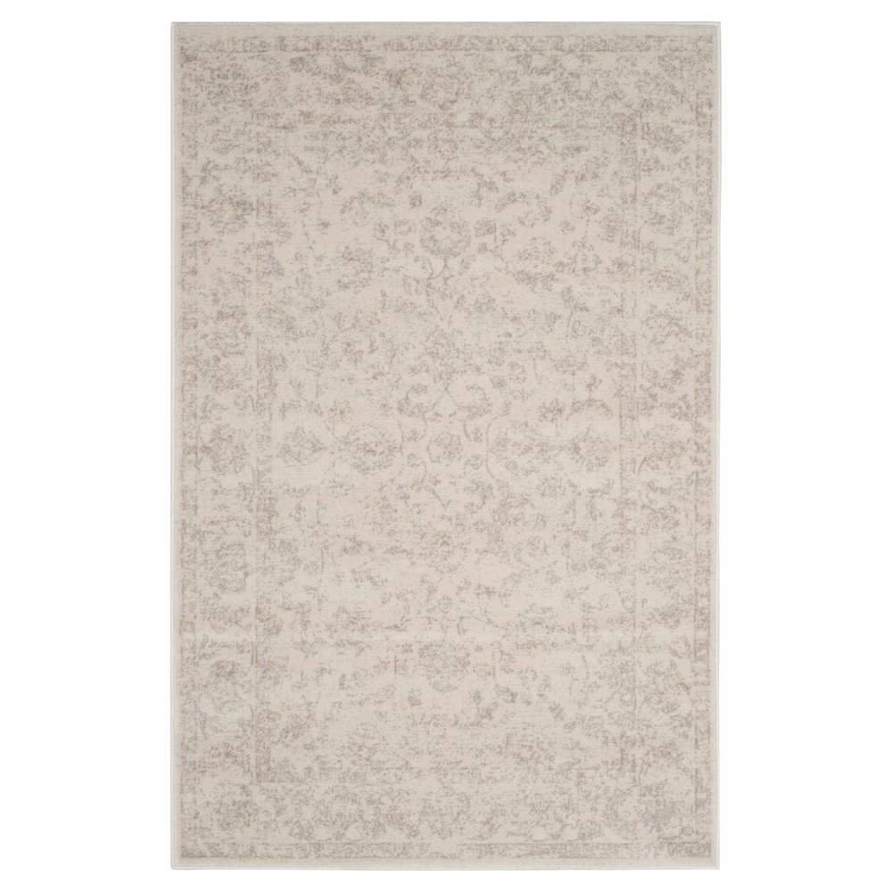 Carnegie Rug - Cream/Light Gray (Ivory/Light Gray) - (3'X5') - Safavieh
