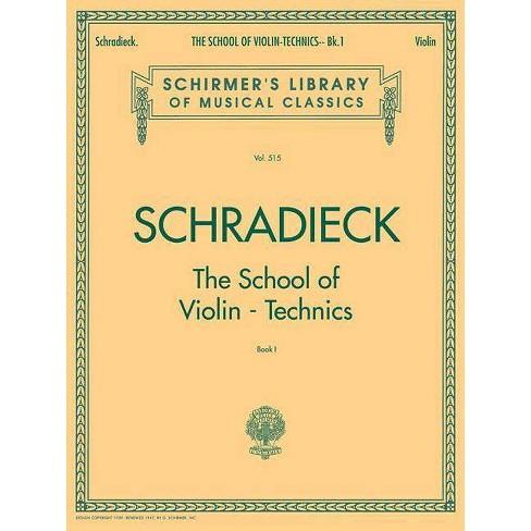 School of Violin Technics - Book 1 - (Paperback) - image 1 of 1