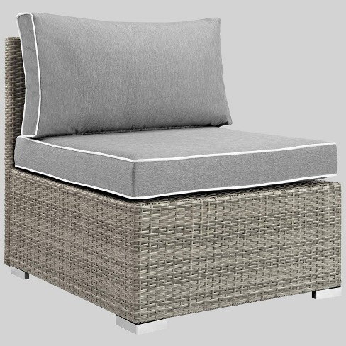 Repose Outdoor Patio Armless Chair, Modway Outdoor Furniture
