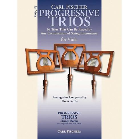 Carl Fischer Progressive Trios for Strings - Viola Book - image 1 of 1