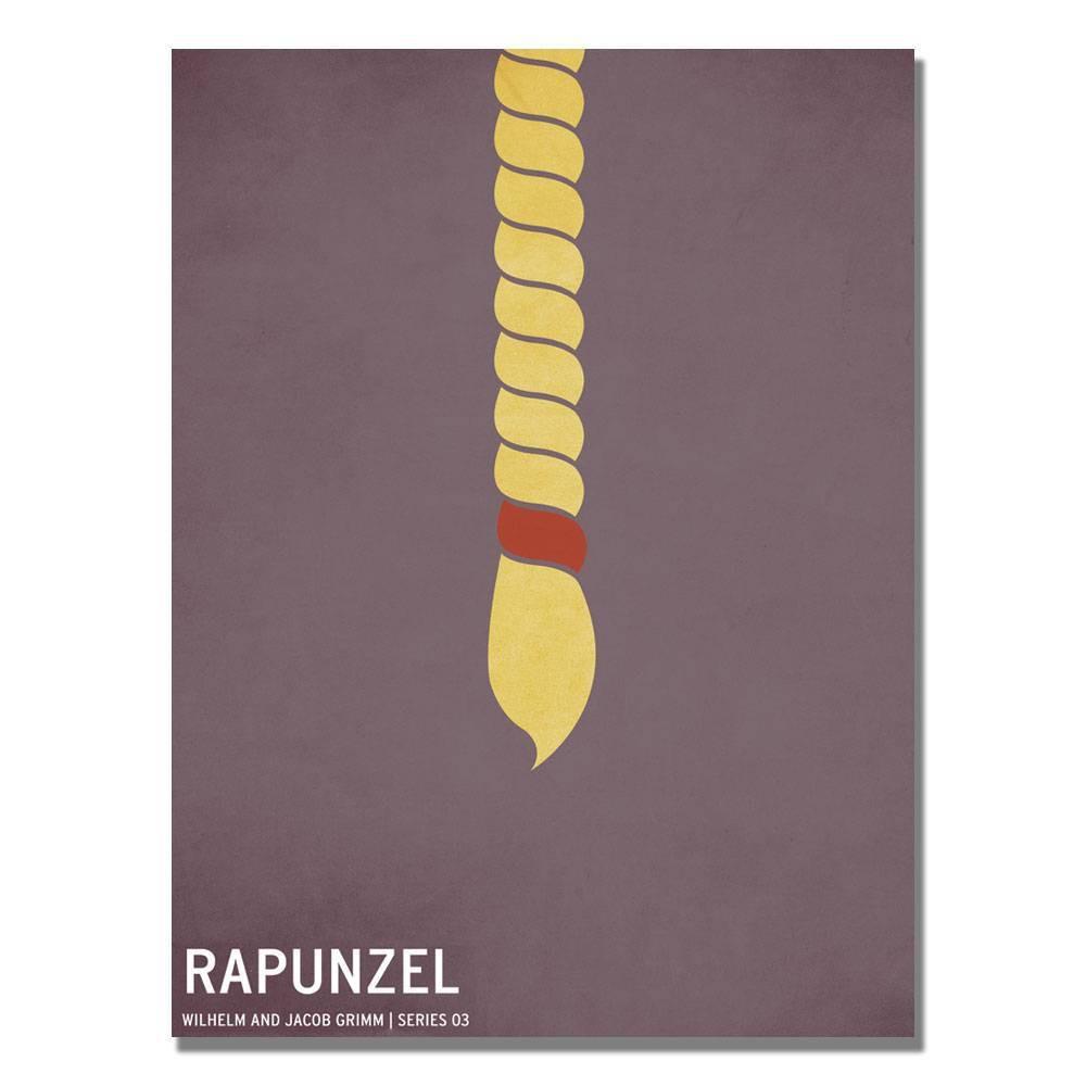 16 34 X 24 34 Rapunzel By Christian Jackson Trademark Fine Art