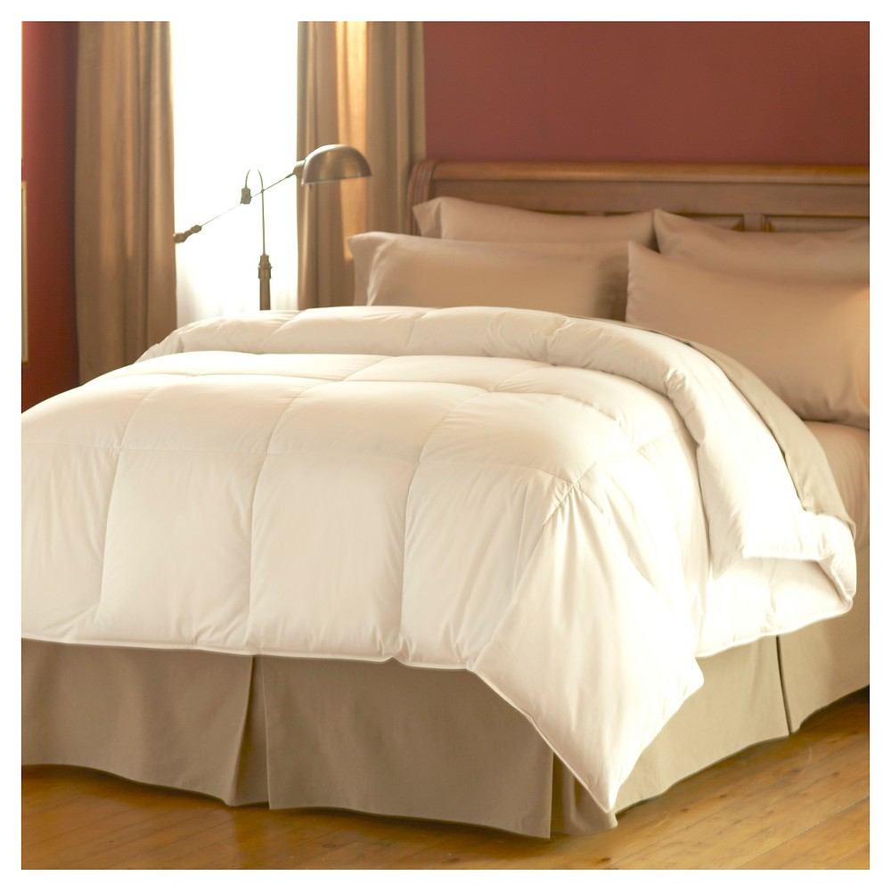 Image of Spring Air Dream Form Micro Gel Comforter - White (Full/Queen)