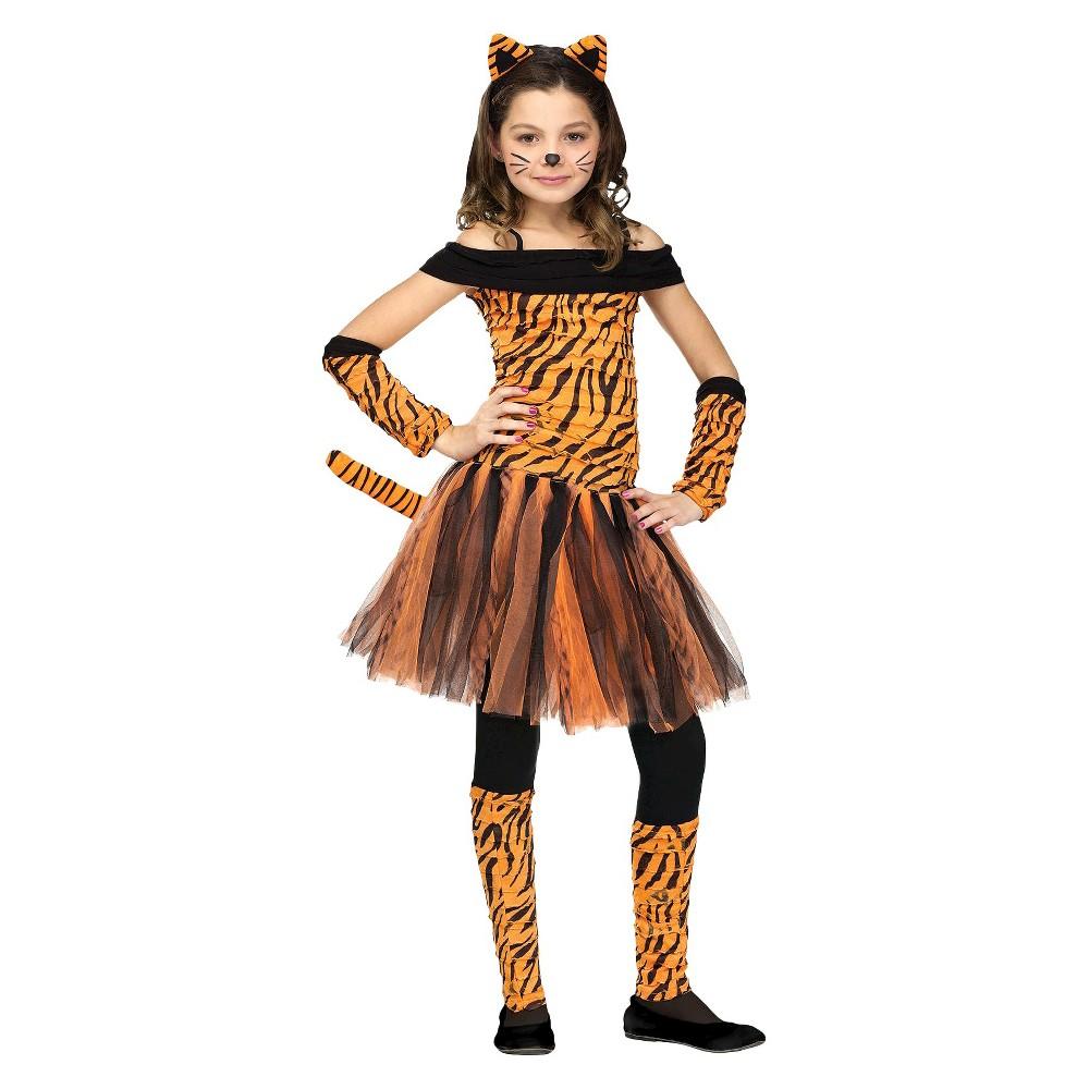 Girls' Tigress Costume Small (4-6), Size: S(4-6)