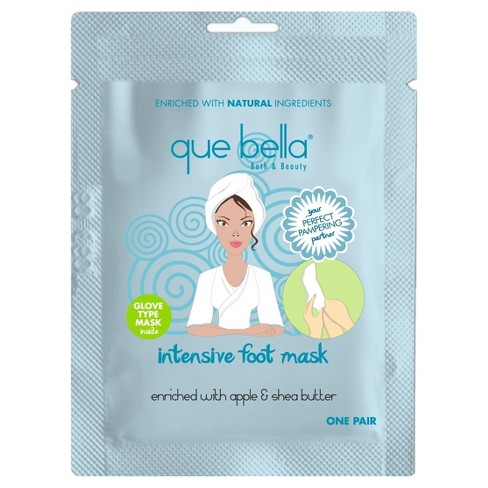 Que Bella® Intensive Foot Mask - 1 pair - image 1 of 1