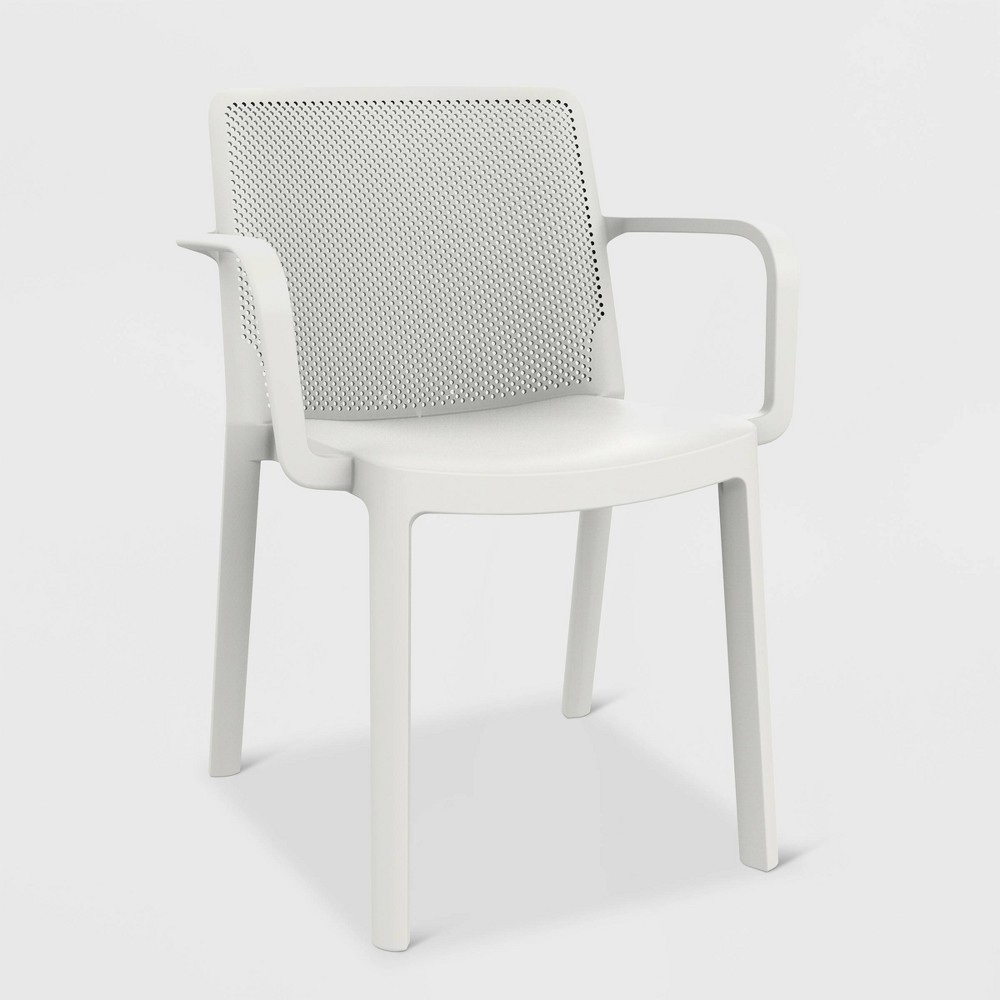 Image of Fresh 2pk Patio Armchair - White - RESOL