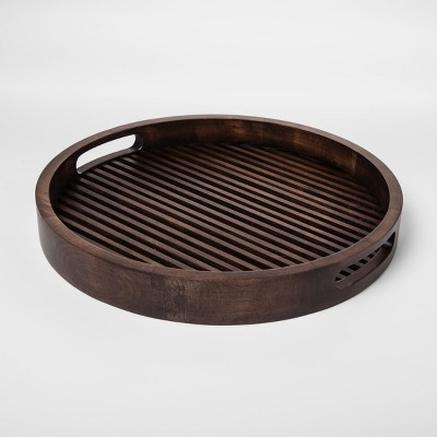 Round Wood Slat Tray - Project 62™