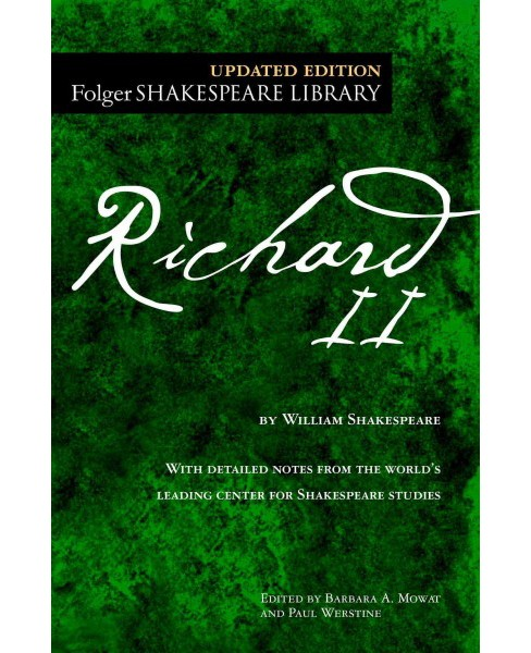 Richard II (Updated) (Paperback) (William Shakespeare) - image 1 of 1