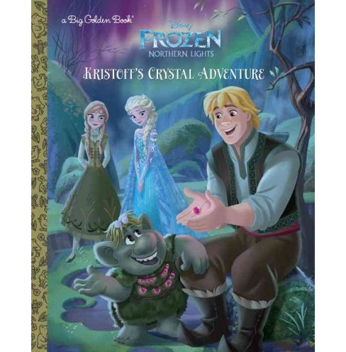 Kristoff's Crystal Adventure (Hardcover) (Apple Jordan) - image 1 of 1