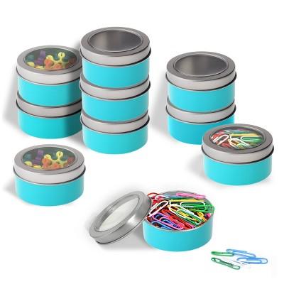 Bon 5pk Magnetic Metal Container Blue   Bullseyeu0027s Playground™ : Target