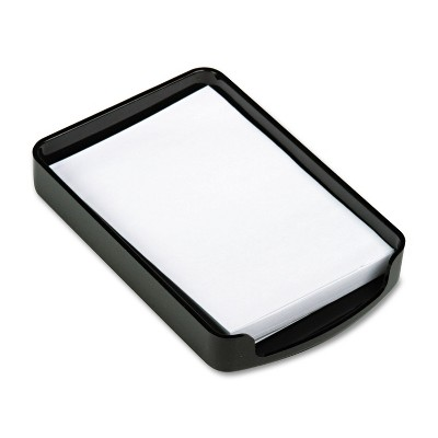 Officemate 2200 Series Memo Holder Plastic 4w x 6d Black 22362