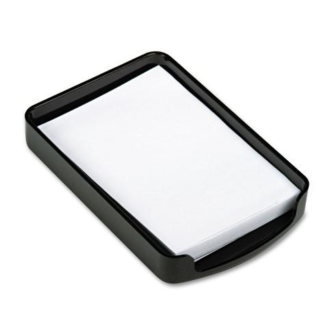 Officemate 2200 Series Memo Holder Plastic 4w x 6d Black 22362 - image 1 of 3
