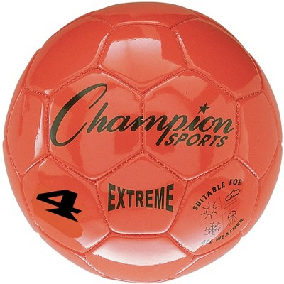 Extreme Series Size 4 Soccer Ball, orange