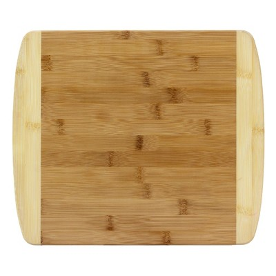 Totally Bamboo 2-Tone Cutting Board 13.5  x 11.5