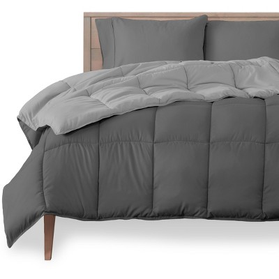 Reversible Microfiber Comforter by Bare Home