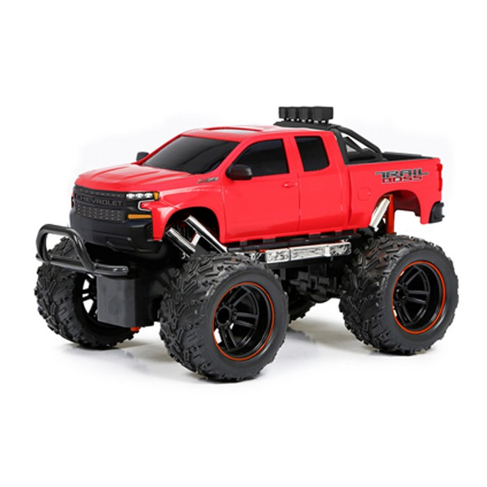 New Bright Remote Control RC FF Chargers Truck Silverado 1:18 Scale - image 1 of 4