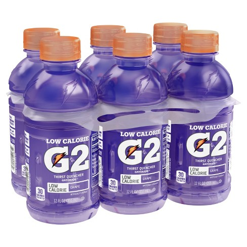 Gatorade G2 Grape Sports Drink - 6pk / 12 fl oz Bottles - image 1 of 1