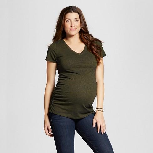 a964a035f69f4 Maternity T-Shirt Green - M - Liz Lange® For Target : Target