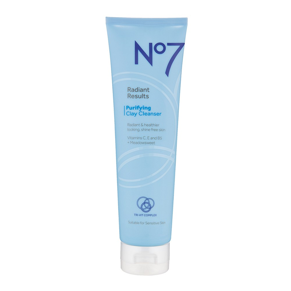 EAN 5000167255256 product image for No7 Radiant Results Purifying Clay Cleanser - 5oz | upcitemdb.com