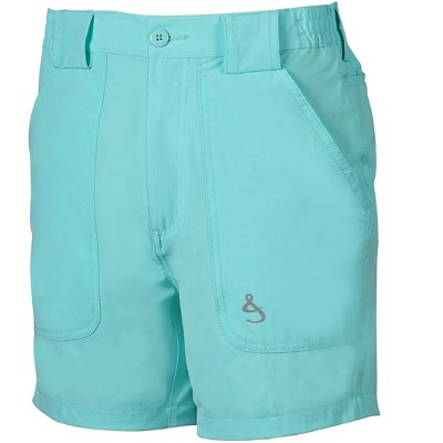 Hook & Tackle Men's Beer Can Island Performance Hybrid Fishing Short | 4-Way Stretch