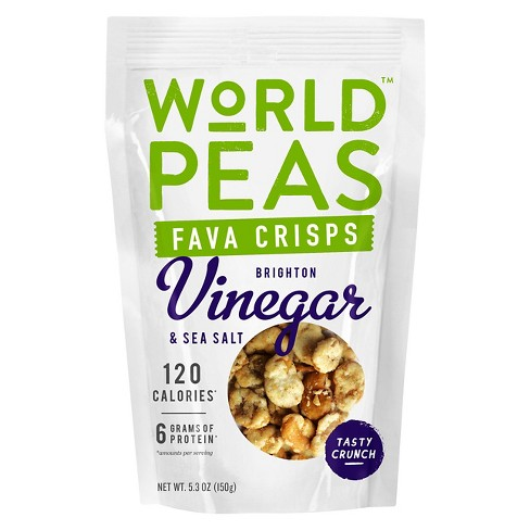World Peas Vinegar & Sea Salt Fava Crisps - 5.3oz - image 1 of 1
