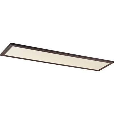 "Maxim Sky Panel 48"" Wide Bronze LED Ceiling Light"