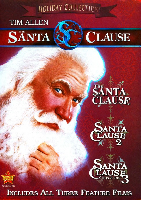 The Santa Clause: 3 Movie Collection (P&S) (3 Discs) (dvd_video) - image 1 of 1