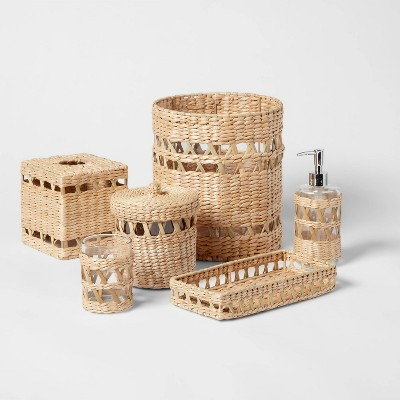 Woven and Glass Bath Collection - Threshold™