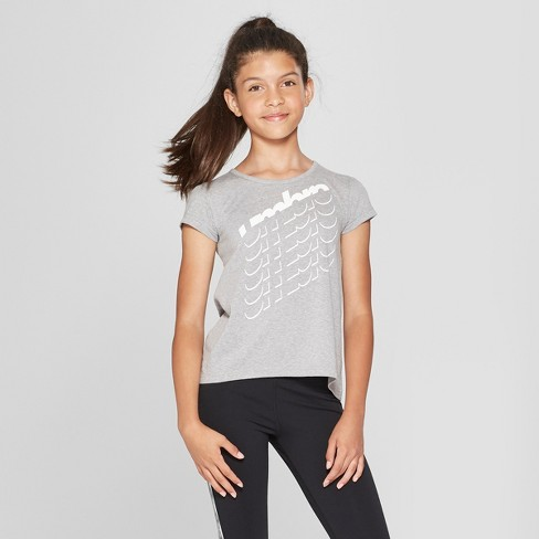 4cf9ffe8623 Umbro Girls  Short Sleeve Graphic T-Shirt   Target