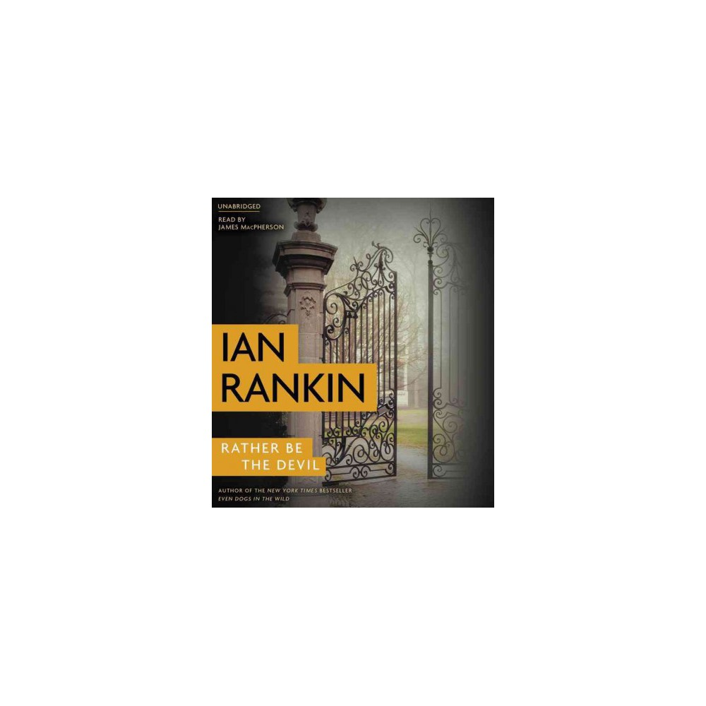 Rather Be the Devil (Unabridged) (Pre-Loaded Audio Player) (Ian Rankin)