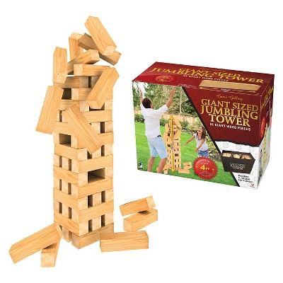Giant Sized Jumbling Tower Game with Storage Bag