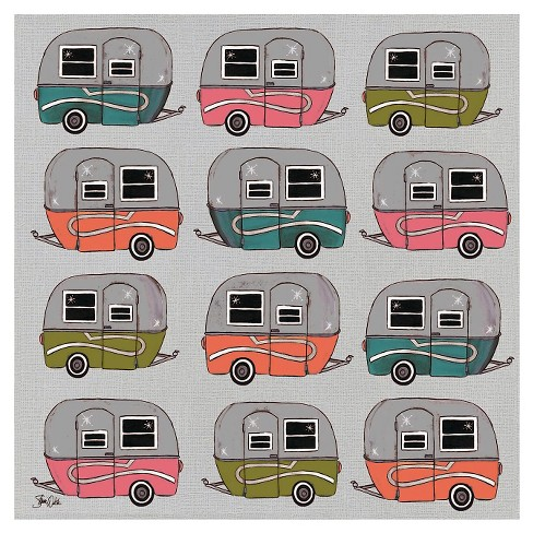 Thirstystone Happy Camper Pattern Coaster Set of 4 - image 1 of 4