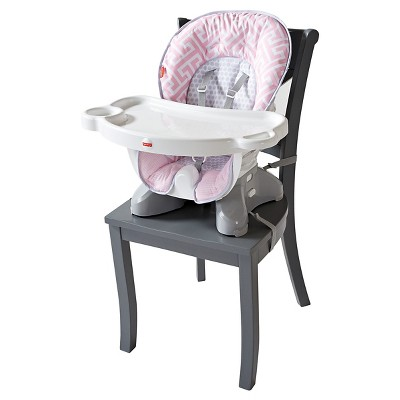 Fisher-Price SpaceSaver High Chair - Girl