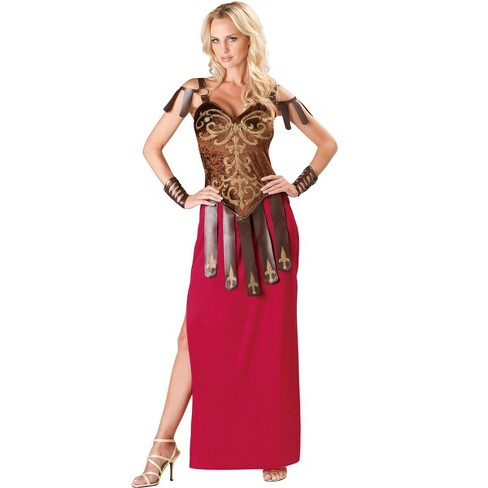 InCharacter Costumes Gorgeous Gladiator Deluxe Adult Costume - image 1 of 1