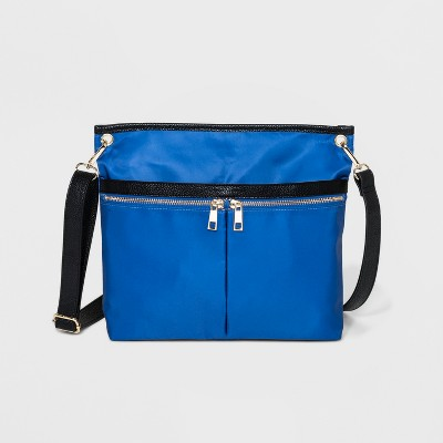 Double Zip Messenger Bag - A New Day™
