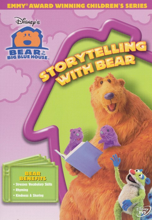 Bear in the big blue house:Storytelli (DVD) - image 1 of 1