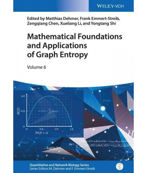 Mathematical Foundations and Applications of Graph Entropy (Hardcover) - image 1 of 1