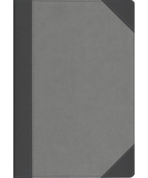 NIV Faithlife Study Bible : New International Version, Gray/Black, Leathersoft, Intriguing Insights to - image 1 of 1