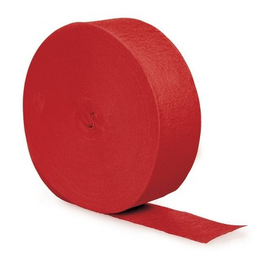 """500"""" 3ct Streamer Red"""