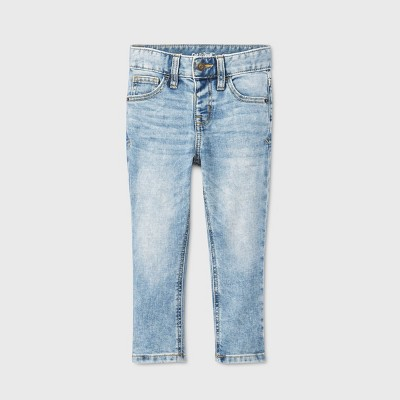 Toddler Boys' Skinny Fit Jeans - Cat & Jack™ Light Acid Wash 18M