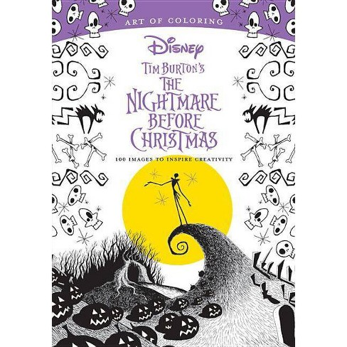 Tim Burton's the Nightmare Before Christmas : 100 Images to Inspire Creativity - by Disney (Paperback) - image 1 of 1