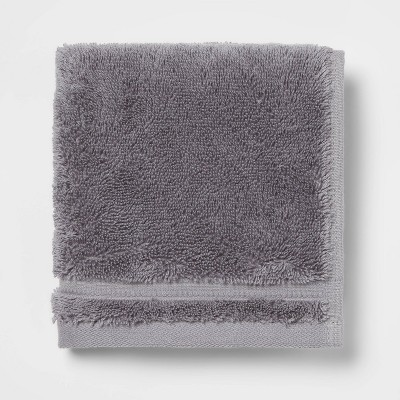 Antimicrobial Washcloth Dark Gray - Total Fresh