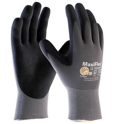 MaxiFlex Endurance Nitrile Gloves Gray/Black 34-844/XL
