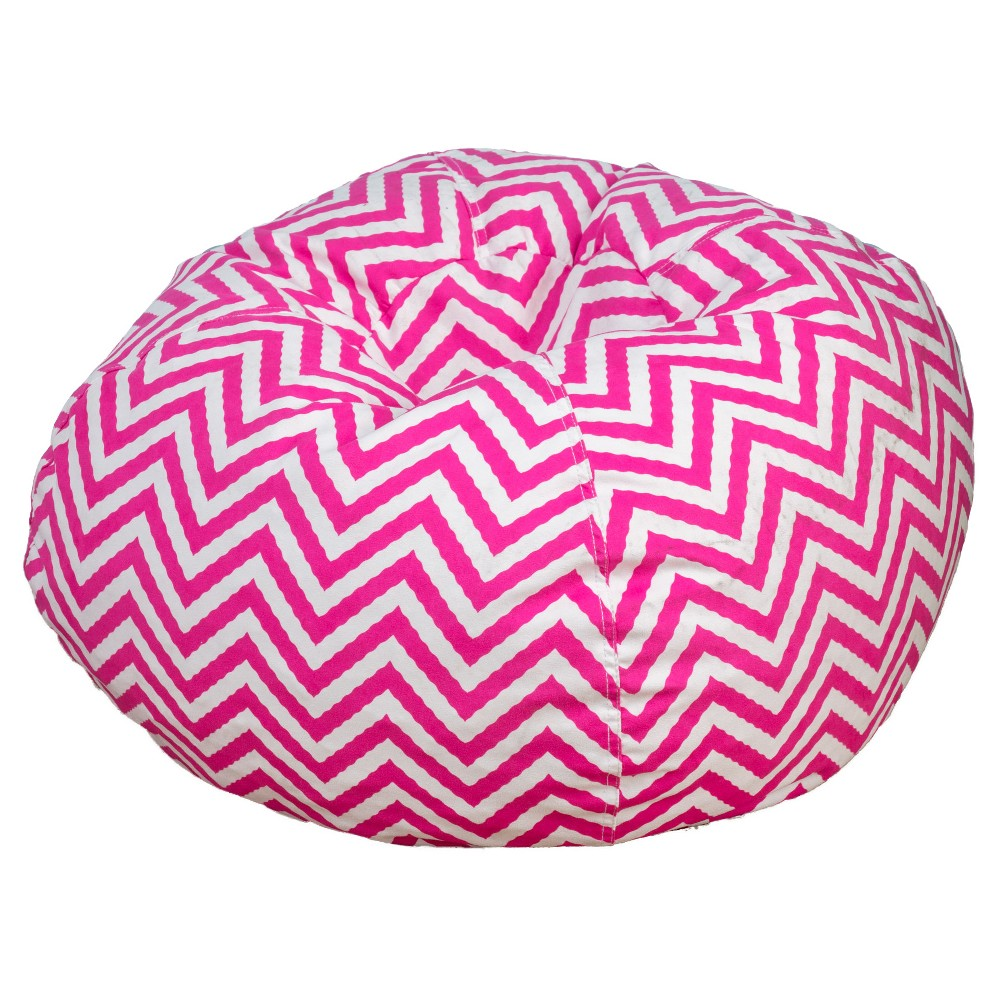 Jack and Jill Bean Bag Chair - Pink - Christopher Knight Home